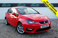 USED 2012 12 SEAT IBIZA 1.2 TSI FR 3d 104 BHP £0 DEPOSIT FINANCE AVAILABLE, AUX/CD/RADIO PLAYER, AIR CON CLIMATE CONTROL, CRUISE CONTROL, CLOTH UPHOLSTERY, STEERING WHEEL CONTROLS