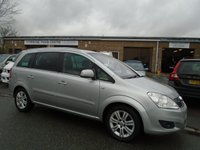 USED 2011 11 VAUXHALL ZAFIRA 1.8 ELITE 5d 138 BHP **GOOD HISTORY INC CAMBELT**