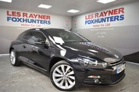 USED 2012 62 VOLKSWAGEN SCIROCCO 2.0 GT TDI 2d MANUAL 170 BHP Full Service History, Leather interior, Sat Nav, Bluetooth, DAB radio