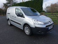 2015 CITROEN BERLINGO 725 X L2 LWB 5-Seater Crewvan 1.6HDI 90Ps £7995.00