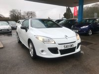 USED 2011 11 RENAULT MEGANE 1.4 DYNAMIQUE TOMTOM TCE 2d 130 BHP NEED FINANCE? WE STRIVE FOR 94% ACCEPTANCE