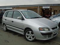USED 2004 54 MITSUBISHI SPACE STAR 1.3 CLASSIC 5d 81 BHP GREAT VALUE 2 OWNER HATCHBACK