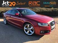 2010 AUDI A5 3.2 FSI QUATTRO S LINE SPECIAL EDITION 2d 262 BHP £13990.00
