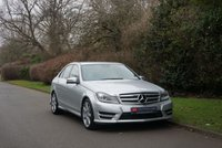 2012 MERCEDES-BENZ C CLASS 2.1 C250 CDI BLUEEFFICIENCY SPORT 4d AUTO 202 BHP £12290.00