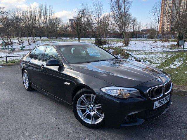 2012 62 BMW 5 SERIES 2.0 520D M SPORT 4d 181 BHP