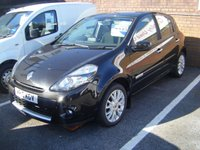 USED 2010 10 RENAULT CLIO 1.1 DYNAMIQUE TOMTOM 16V 5d 74 BHP **ZERO DEPOSIT FINANCE AVAILABLE** PART EXCHANGE WELCOME