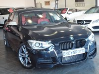 USED 2012 62 BMW 1 SERIES 3.0 M135I 5d AUTO 316 BHP SAT NAV+HEATED RED LEATHER+FSH
