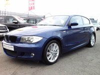 USED 2008 58 BMW 1 SERIES 2.0 118d M Sport 3dr F&R SENSORS+STOP START+AC