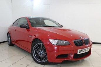 2012 BMW M3}