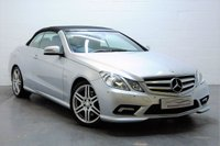 2010 MERCEDES-BENZ E CLASS 3.0 E350 CDI BLUEEFFICIENCY SPORT 2d AUTO 231 BHP £10795.00