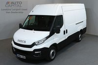 USED 2015 64 IVECO-FORD DAILY 2.3 35S13V 5d 126 BHP LWB HIGH ROOF REAR WD  ELECTRIC WINDOWS MIRRORS ONE OWNER FROM NEW