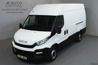 USED 2014 64 IVECO-FORD DAILY 2.3 35S13V 126 BHP MWB HIGH ROOF ONE OWNER FROM NEW, FULL SERVICE HISTORY