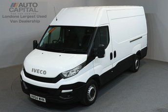 2014 IVECO-FORD DAILY 2.3 35S13V 126 BHP MWB HIGH ROOF £10490.00