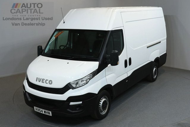 2014 64 IVECO-FORD DAILY 2.3 35S13V 126 BHP MWB HIGH ROOF ONE OWNER FROM NEW, FULL SERVICE HISTORY