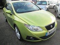 2009 SEAT IBIZA 1.4 SE 3d 85 BHP £2895.00