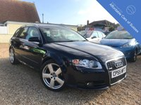 USED 2005 55 AUDI A4 AVANT 2.0 TDI S LINE 5d 140 BHP New Cambelt and water pump Diesel