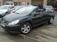 USED 2005 05 PEUGEOT 307 2.0 COUPE CABRIOLET 2d 135 BHP **LOW MILEAGE + 2 OWNER**