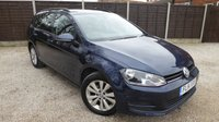 USED 2014 14 VOLKSWAGEN GOLF 1.6 SE TDI BLUEMOTION TECHNOLOGY 5dr Great Spec, 1 Owner, £20 Tax