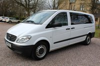 USED 2010 10 MERCEDES-BENZ VITO 2.1 111 CDI EXTRA LONG TRAVELINER LWB 1d AUTO 109 BHP