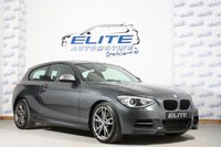 USED 2014 14 BMW 1 SERIES 3.0 M135I 3d 316 BHP FULL BMW SERVICE HISTORY / 315BHP / HARMAN KARDON / FRONT AND REAR PARK ASSIST / COMFORT PACK / RAIN AND LIGHT PACK / 155MPH / 0-60 MPH IN 4.9 SECONDS - OUTSTANDING CONDITION!!!