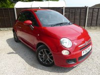 USED 2014 63 FIAT 500 1.2 Sport 3dr Lovely Spec, £30 Tax.