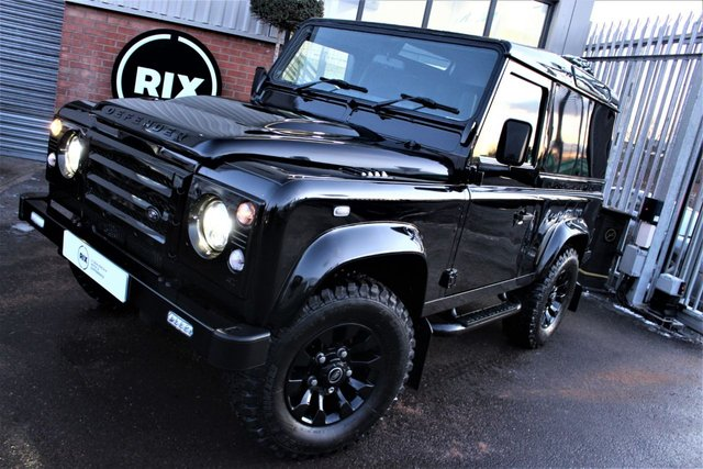 2009 09 LAND ROVER DEFENDER 2.4 90 COUNTY HARD TOP 1d 122 BHP-2 OWNERS FROM NEW