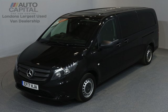 2017 17 MERCEDES-BENZ VITO 2.1 114 BLUETEC TOURER SELECT 5d 136 BHP AUTO RWD LWB A/C REV.CAM MINIBUS 9SEAT EURO 6 ENGINE   ONE OWNER FROM NEW