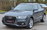 USED 2014 14 AUDI Q3 2.0 TDI QUATTRO S LINE PLUS 5d AUTO 177 BHP ** HEATED SEATS **