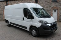 2014 CITROEN RELAY 2.2 35 L3H2 ENTERPRISE HDI 1d 129 BHP £7950.00