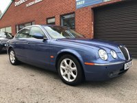 USED 2005 05 JAGUAR S-TYPE 2.7 V6 SE 4d AUTO 206 BHP Full leather upholstery, Electric driver and passenger seats,     Heated front screen,     Rear parking sensors