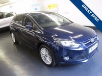 USED 2011 11 FORD FOCUS 1.6 ZETEC 5d 124 BHP 1 PREVIOUS OWNER, GREAT SPEC INCLUDING CITY PACK, REAR PACKING SENSORS