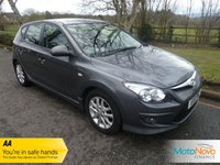 USED 2011 11 HYUNDAI I30 1.6 COMFORT CRDI 5d 113 BHP Great Economy and Cheap Road Tax with this Hyundai I30 Comfort which includes Air Conditioning, Alloy Wheels and Service History