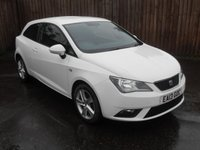 USED 2013 13 SEAT IBIZA 1.4 TOCA 3d  WITH ALLOYS AND AIRCON  NO DEPOSIT  FINANCE ARRANGED, APPLY HERE NOW