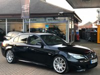 USED 2007 57 BMW 5 SERIES 525I M SPORT 4d AUTO 215 BHP 1 Owner from new