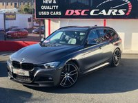 USED 2015 65 BMW 3 SERIES 2.0 320D M SPORT TOURING 188 BHP