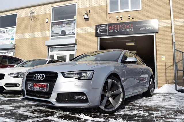 2015 15 AUDI A5 2.0 TDI S LINE BLACK EDITION 177 BHP COUPE