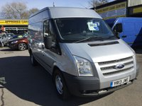 USED 2013 13 FORD TRANSIT 2.2 350 TREND 4 DOOR 124 BHP IN SILVER IN GREAT CONDITION. APPROVED CARS ARE PLEASED TO OFFER THIS FORD TRANSIT 2.2 350 TREND 4 DOOR 124 BHP IN SILVER,THIS VAN HAS BEEN VERY WELL LOOKED AFTER AND IS COMPLETELY PLY LINED WITH A DOCUMENTED SERVICE HISTORY AND NO VAT.THIS VAN IS TOTALLY READY FOR WORK.