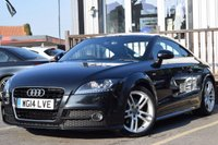 USED 2014 14 AUDI TT 1.8 TFSI S LINE 2d AUTO 158 BHP FULL SERVICE HISTORY, AND ONLY ONE OWNER FROM NEW. SUPERB CONDITION CAR.
