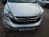 USED 2012 12 HONDA CR-V 2.2 I-DTEC EX 5d AUTO 148 BHP LEATHER,SAT NAV, PAN ROOF, FULL SERVICE HISTORY