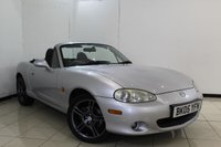 USED 2005 05 MAZDA MX-5 1.8 SPORT 2DR 144 BHP FULL SERVICE HISTORY + HEATED LEATHER SEATS + AIR CONDITIONING + RADIO/CD + ELECTRIC WINDOWS + 16 INCH ALLOY WHEELS
