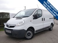 USED 2010 59 VAUXHALL VIVARO 2.0 2700CDTI SWB SHR 1d 90 BHP TWIN SLIDING DOORS WITH NO VAT!!!