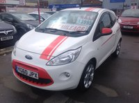 USED 2010 60 FORD KA 1.2 GRAND PRIX 3d 69 BHP Don't miss this one, what a cracker. Superb 61000 miles.