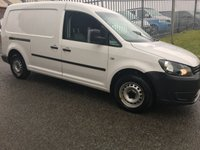 USED 2013 13 VOLKSWAGEN CADDY 1.6 C20 TDI STARTLINE 1d 101 BHP CADDY MAXI