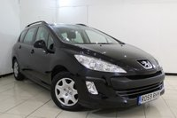 USED 2009 59 PEUGEOT 308 1.6 SW S 5DR 118 BHP SERVICE HISTORY + AIR CONDITIONING + RADIO/CD + ELECTRIC WINDOWS + ELECTRIC MIRRORS