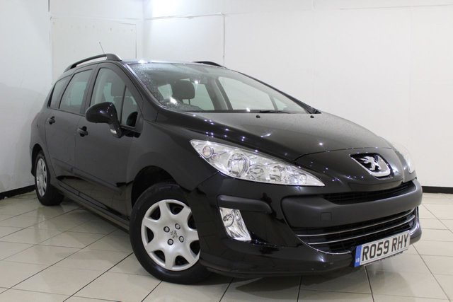 View our 2009 59 PEUGEOT 308 1.6 SW S 5DR 118 BHP