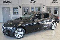 USED 2012 12 BMW 3 SERIES 2.0 320D SPORT 4d 184 BHP FULL SERVICE HISTORY + BLUETOOTH + £30 ROAD TAX + CRUISE CONTROL + REAR PARKING SENSORS + 17 INCH ALLOYS