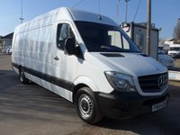 USED 2015 64 MERCEDES-BENZ SPRINTER 313 CDI EXTRA LWB HI ROOF, 130 BHP [EURO 5]