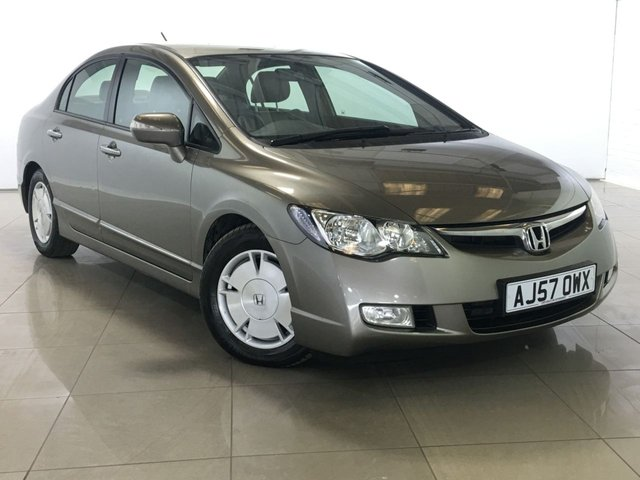 View our 2007 57 HONDA CIVIC 1.3 IMA ES HYBRID 4d 115 BHP