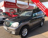 USED 2007 07 HYUNDAI TERRACAN 2.9 STANDARD CRTD LTD AUTO **ONLY 67,000 MILES* GREAT FOR TOWING