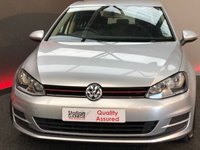 USED 2013 13 VOLKSWAGEN GOLF 1.2 S TSI BLUEMOTION TECHNOLOGY 5d 84 BHP  DAB £30 ROAD TAX Nice full service History new shape GOLF with good fuel consumption, low insurance, low road tax, ideal family car, with DAB